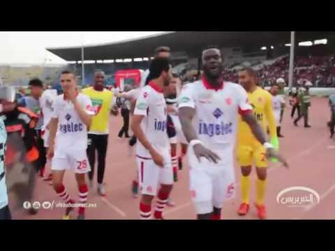 المغرب اليوم  - بالفيديو  احتفالية لاعبو الوداد مع الجمهور