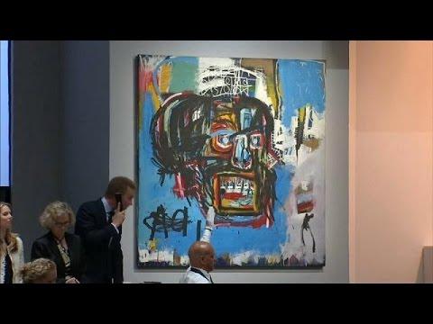 المغرب اليوم  - بيع لوحة للرسام الأميركي الراحل باسكيا بـ110 ملايين دولار