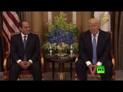 المغرب اليوم  - شاهد دونالد ترامب يلتقي نظيره المصري عبد الفتاح السيسي