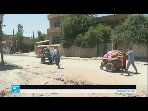 المغرب اليوم  - بالفيديو عائلات عراقية تعود إلى الأحياء المحرّرة في الموصل