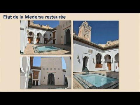 المغرب اليوم  - بالفيديو تجديد مدارس تاريخية بجامعة القرويين العريقة