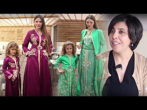 المغرب اليوم  - شاهد جميلة حماموش تقدم لمسة جديدة في عالم القفطان