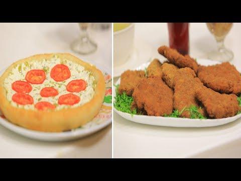 المغرب اليوم  - شاهد طريقة إعداد بفتيك كداب باللحمة المفرومة وبيتزا جبنة وطماطم