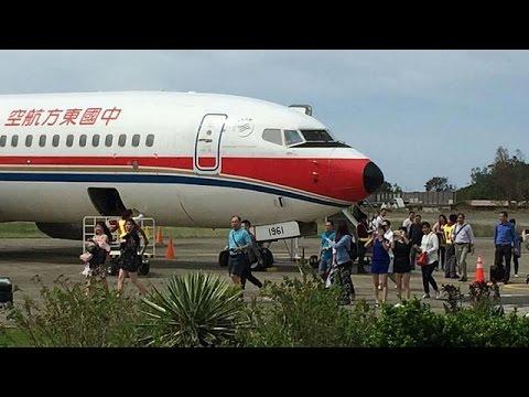 المغرب اليوم  - شاهد هبوط اضطراري لطائرة تابعة لشركة الطيران الصينية تشاينا ايسترن في استراليا