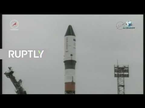 المغرب اليوم  - شاهد لحظة إطلاق شاحنة بروغريس إم إس–06 الروسية إلى المحطة الفضائية الدولية