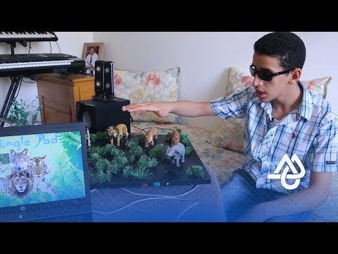 المغرب اليوم  - شاهد  اختراعات طفل مغربي كفيف