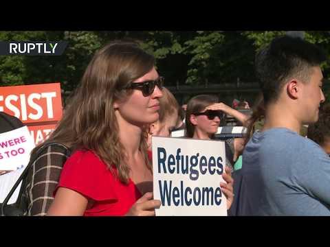 المغرب اليوم  - شاهد الأميركيون يرحبون باللاجئين من أنحاء العالم كافة