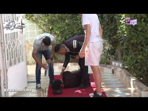 المغرب اليوم  - شاهد النجم المغربي يوسف القديوي يقع في أحد المقالب التلفزيونية