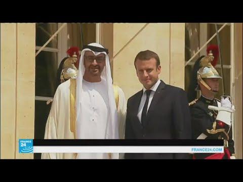 المغرب اليوم  - ماذا بحث ولي عهد أبو ظبي مع الرئيس الفرنسي ماكرون