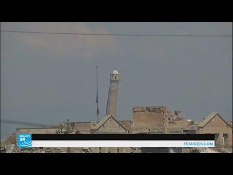 المغرب اليوم  - القوات العراقية وصلت على بعد 50 مترًا من جامع النوري