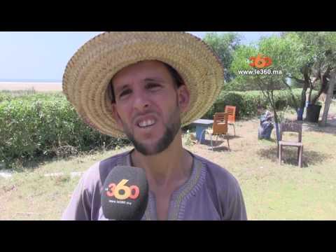 المغرب اليوم  - شاهد تلوث شاطئ يرتاده الملك في طنجة