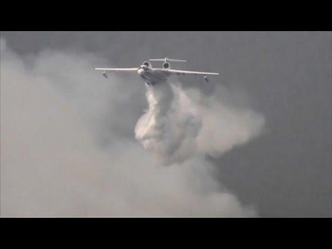 المغرب اليوم  - شاهد انتشار حرائق الغابات في سيبيريا