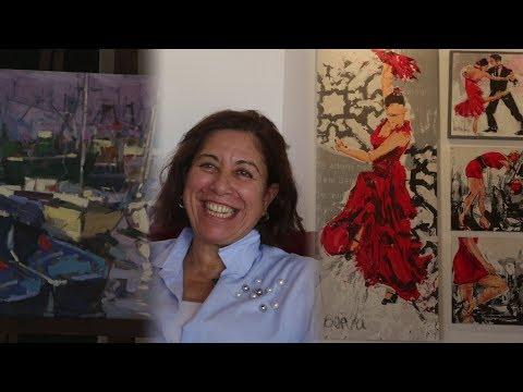 المغرب اليوم  - شاهد ليلى بنعبد الجليل تقتني لوحات لكبار الفنانين المغاربة