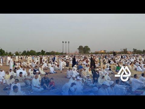 المغرب اليوم  - شاهد أجواء صلاة العيد في مراكش الحمراء