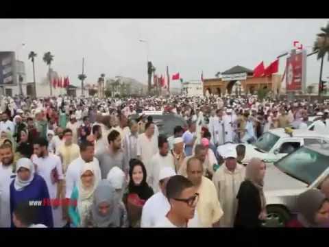 المغرب اليوم  - شاهد شارع محمد السادس يمتلأ عن آخره