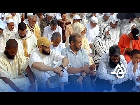 المغرب اليوم  - شاهد صلاة العيد في سلا