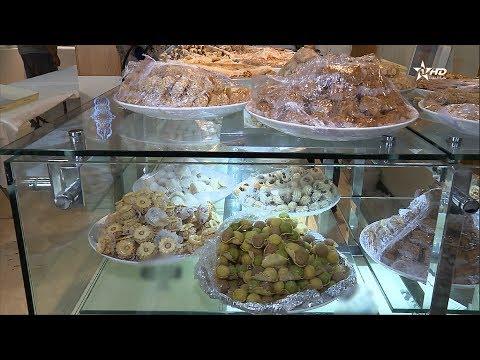 المغرب اليوم  - شاهد إقبال على الحلويات التقليدية والعصرية لعيد الفطر 2017