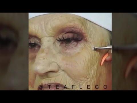 المغرب اليوم  - شاهد امرأة تجاوزت الـ85 عامًا بعد وضع المكياج