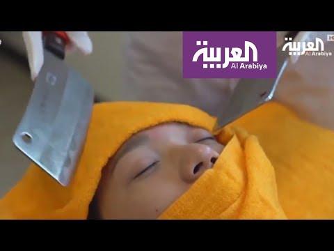 المغرب اليوم  - طرق استرخاء عن طريق تدليك الجسم بالسكاكين الحادة
