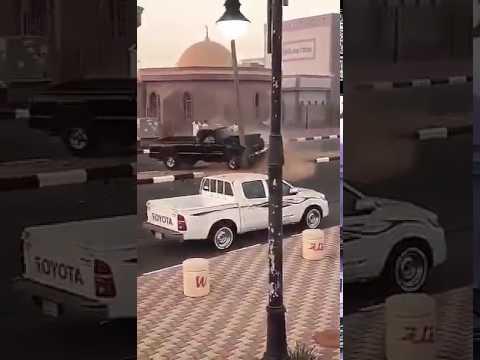 المغرب اليوم  - شاب متهوّر يتعرّض إلى حادث مروع في الرياض
