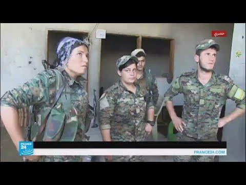 المغرب اليوم  - شاهد المعارك المستمرة في الرقة تحول بدون هرب المدنيين منداعش