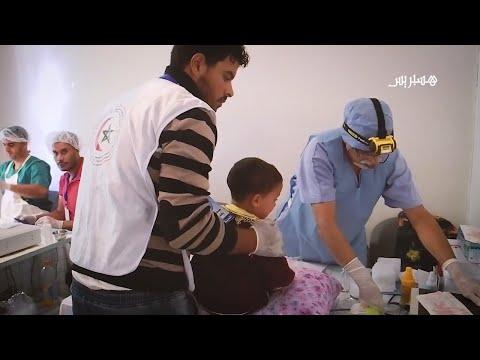 المغرب اليوم  - مشاهد من إعذار جماعي لأطفال خريبكة