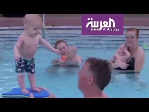 المغرب اليوم  - السباحة للرضع ضرورية لأنها تساعد على الاستقلال والاسترخاء