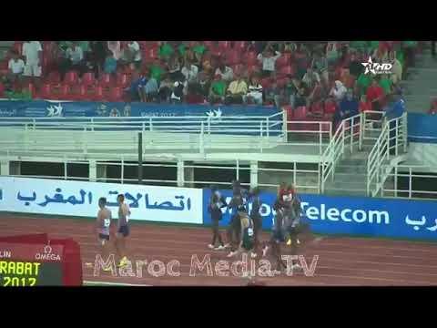 المغرب اليوم  - شاهد لقطة طريفة في ملتقى محمد السادس لألعاب القوى