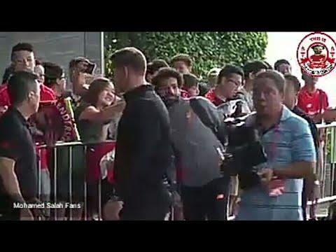 المغرب اليوم  - شاهد ترحيب حار في استقبال محمد صلاح في هونغ كونغ