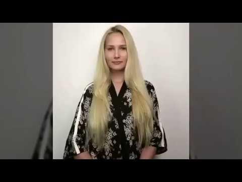 المغرب اليوم  - بالفيديو  أرادت أن تفاجئ حبيبها فصبغت شعرها بلون مميز