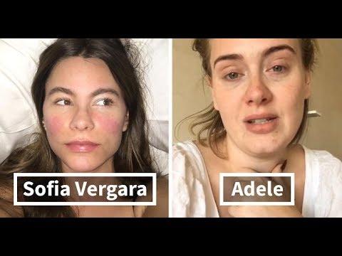 المغرب اليوم  - شاهد مشاهير عالميون دون مكياج