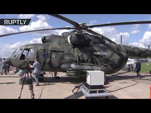 المغرب اليوم  - شاهد نسخة حربية لمروحية mi171sh