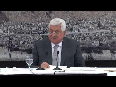 المغرب اليوم  - شاهد الرئيس عباس يعلن تجميد الاتصالات مع إسرائيل