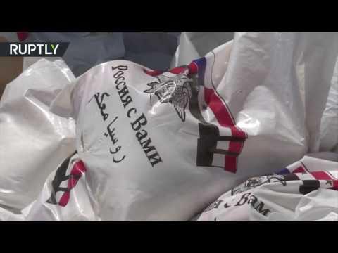 المغرب اليوم  - شاهد وصول أول قافلة من المساعدات إلى الغوطة الشرقية