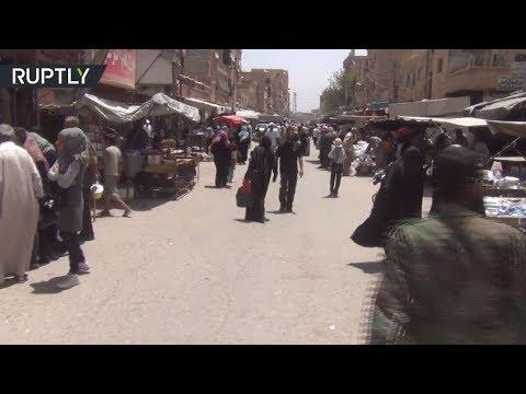 المغرب اليوم  - شاهد مواطنو دير الزور يرحبون بتقدم الجيش السوري في ريف المحافظة