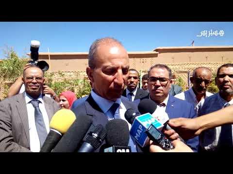 المغرب اليوم  - محمد حصاد يزور مؤسسات تعليمية في إقليم ورزازات