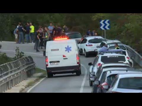 المغرب اليوم  - شاهد الشرطة الإسبانية تقتل منفذ اعتداء برشلونة