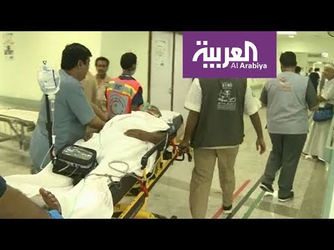 المغرب اليوم  - شاهد لحطة إسعاف مريض في المشاعر المقدسة