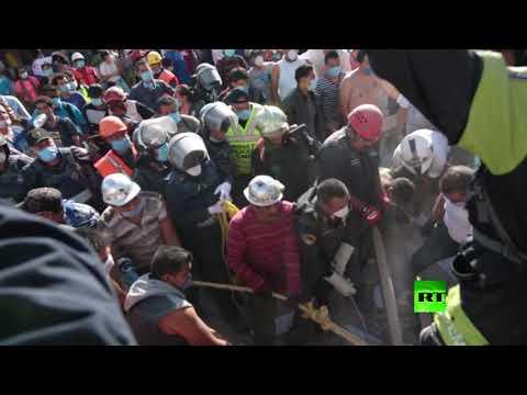 المغرب اليوم  - شاهد مشاهد مروّعة من زلزال المكسيك المدّمر