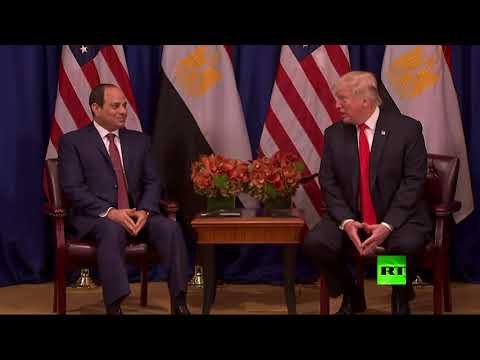 المغرب اليوم  - شاهد لقاء بين عبد الفتاح السيسي ودونالد ترامب على هامش الجمعية العامة