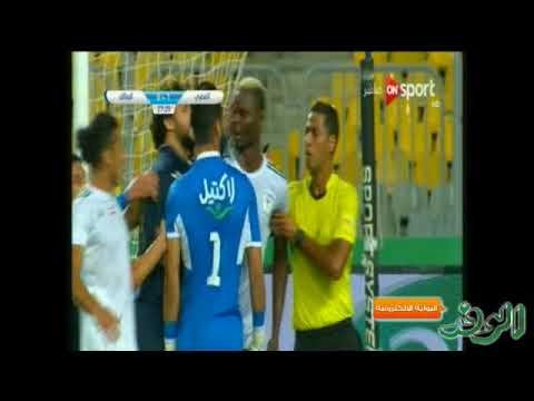 المغرب اليوم  - شاهد اشتباك بين بانسيه والحارس أحمد الشناوي 