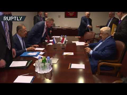 المغرب اليوم  - شاهد لقاء بين وزيري الخارجية الروسي سيرغي لافروف والسوري وليد المعلم