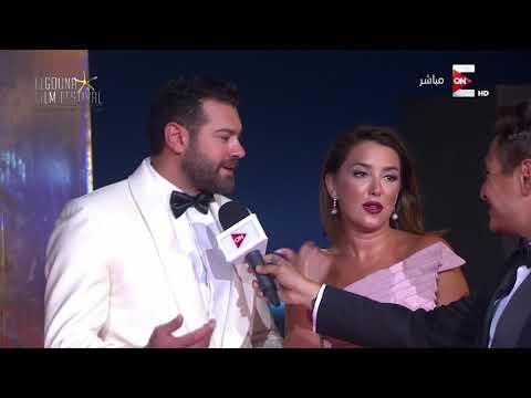 المغرب اليوم  - شاهد عمرو يوسف وكندة علوش يتحدثان عن مشاركتهما في مهرجان الجونة