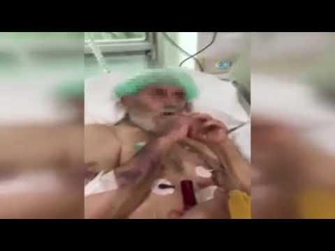 المغرب اليوم  - شاهد ممرضات يقدمن سيجارة لعجوز في العناية المركزة
