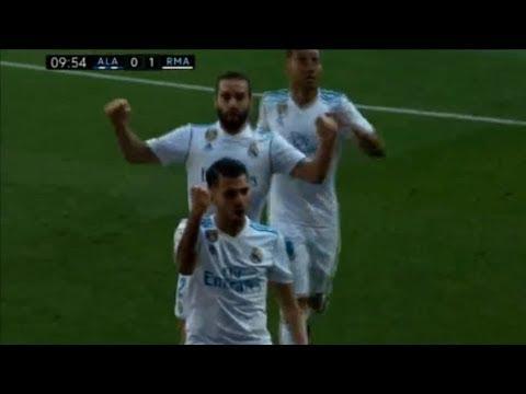 المغرب اليوم  - ملخص واهداف مباراة ريال مدريد والافيس 21