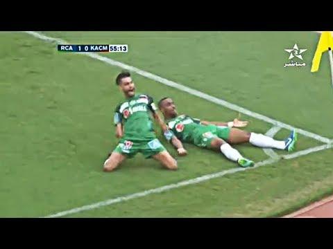 المغرب اليوم  - شاهد هدف محسن ياجور الأول في مرمي الكوكب المراكشي