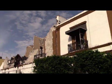 المغرب اليوم  - شاهد استمرار عمليات البحث عن ناجين في زلزال المكسيك