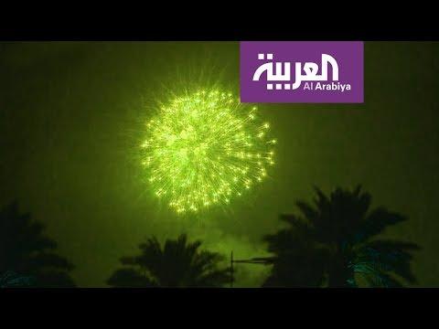 المغرب اليوم  - بالفيديو  أضخم احتفال في سماء السعودية خلال يومها الوطني