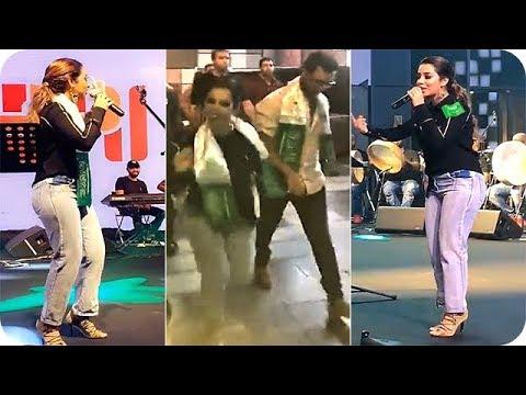 المغرب اليوم  - بالفيديو بلقيس فتحي تشعل حفلة العيد الوطني السعودي