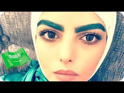 المغرب اليوم  - بالفيديو سارة الودعاني تصبغ حواجبها باللون الأخضر
